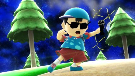Cool shades Ness!! by crazycool124