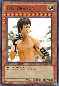 Bruce Lee the card by IamTerra