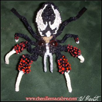 Grendel Spider- Chenille Stem Miniature by the-gil-monster