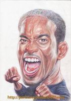 Caricature -pencil color by Jambang