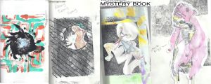 Mystery book nutshell by zombiepunked