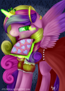Love Letter - Chrysalis/Cadence as Countess by Julunis14