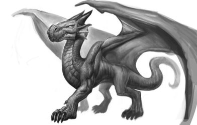 Dragon Time WIP by SketchMonster1