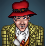 Mad Jim Jaspers (art trade) by Creedovich