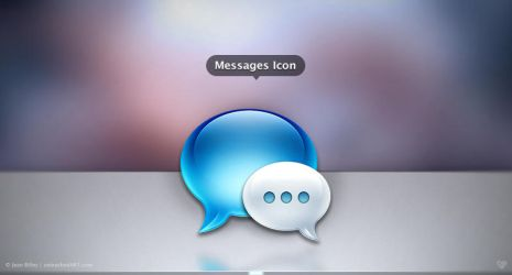 Messages Icon by Jean31