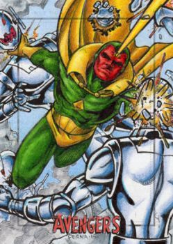 Vision - Avengers Silver Age by tonyperna
