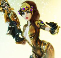 [Overwatch] Golden Widow by Brownie-Ari