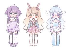 Smol pastel adopt auction [CLOSED THANKYOU] by mellowshy