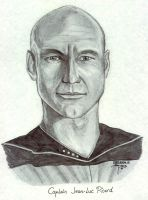 Captain Jean-Luc Picard by stayka