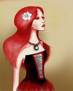 Elegance in red. by Moonacat