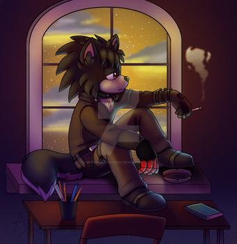 Just thinking By Absolutedream by WerewolfConfess
