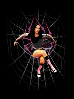 AJ Lee - The Black Widow by buckyj