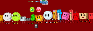 All Original BFDI Contestants by jaybirdking85