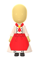 Chef Dress by Rosemoji