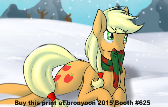 It's Cold Down Here Too (Print Version) by DictionArt