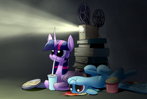 Movie Night by Underpable