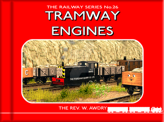 The Cover of ''Tramway Engines'' (2018 Style) by Nictrain123