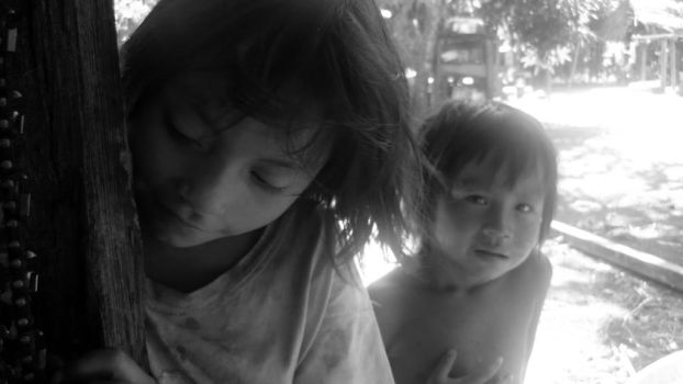 Children from Madre de dios, Amazonia by h2j