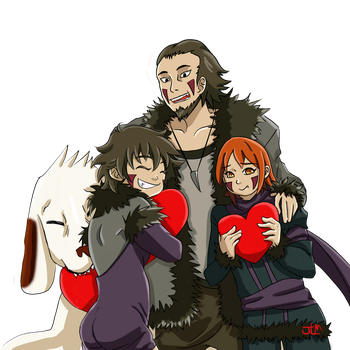 Dad's Our Valentine! by Pool-Sempai