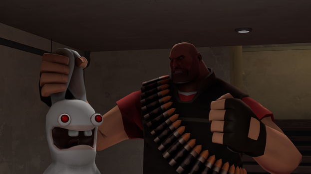 [Gmod/SFM Download] 'Cinematic' Rabbid Red Eyes by T-rexHunter2000