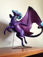 Shen Sculpture Painted by Teggy