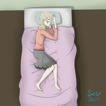 Vie Sleeping by SassyGhost