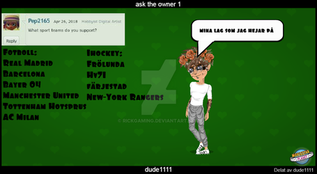 Ask The Owner 1 by Rickgaming