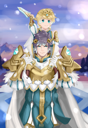 Hrid and Fjorm by Sturmfrost