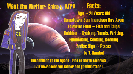 Meet the Writer by Galaxy-Afro