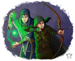 Skyrim Duo by star-anise