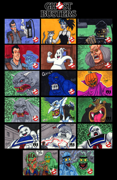 GhostBusters Sketch Cards - 04 by SeanRM