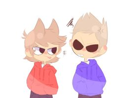 Eddsworld - Red and Blue || Collab by SachikoChii