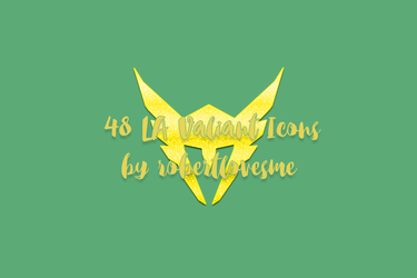 48 LA Valiant Icons by rosemonburstmode