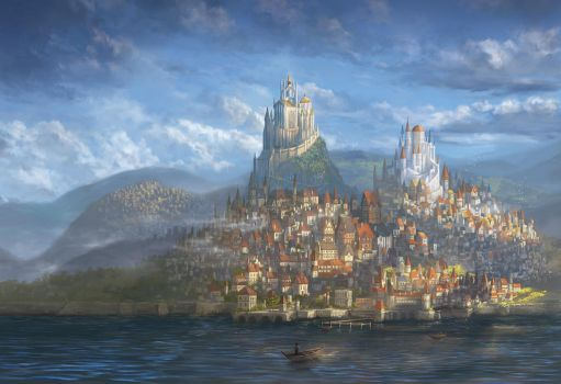 Aldis, City of the Blue Rose by Alayna
