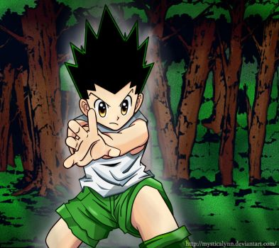 Gon in training :D by MysticaLynn