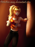 RWBY: I won't lose this fight! by Detective-May