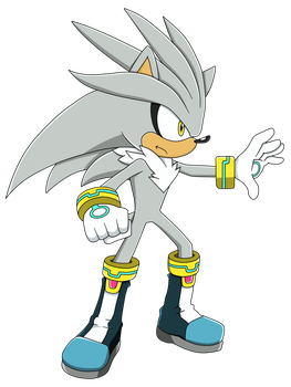Silver the Hedgehog by Hari--chan