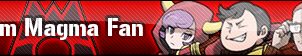 Team Magma Fan Button by GeneralGibby