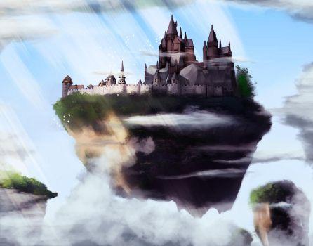 Floating Castle by Hoa-prox