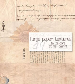 14 large paper textures by mellowmint