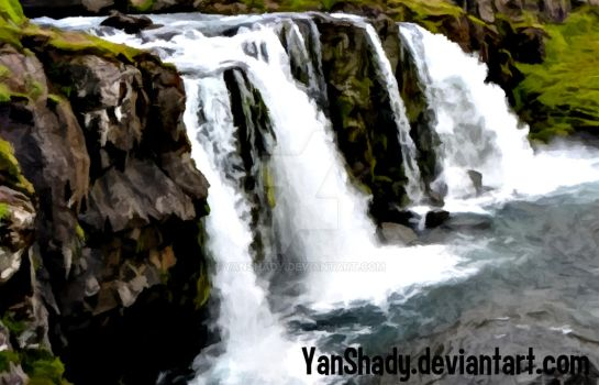 Another Waterfall by YanShady
