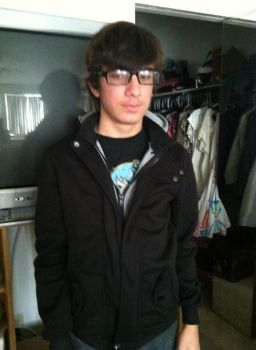 A crappy picture my of me in Desmond's jacket by finlandrussiaprussia