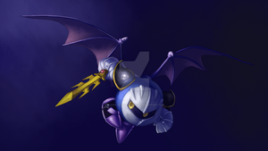 Meta Knight by ASagelyKitchenSponge