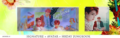 Euphoria    HBDAY KOOKIE by answer-ly