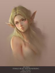 Elf head tutorial by yuchenghong