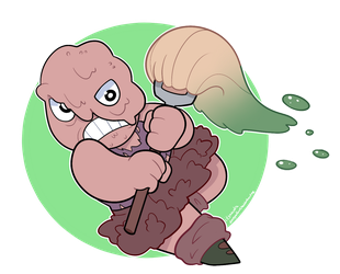 Toxie by itsaaudraw