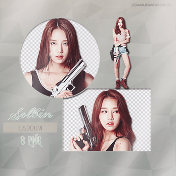 LABOUM Solbin 8 PNG PACK #29 by liaksia by liaksia