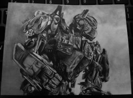 Optimus Prime by Curlie-11