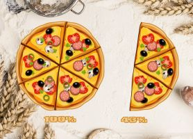 Pizza Battery Widget for xwidget by Jimking