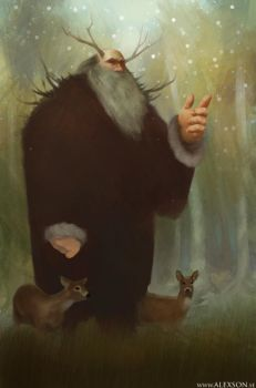 Father winter by alexson1